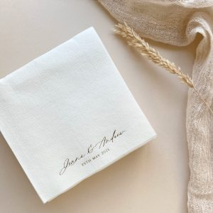 personalised cocktail napkins