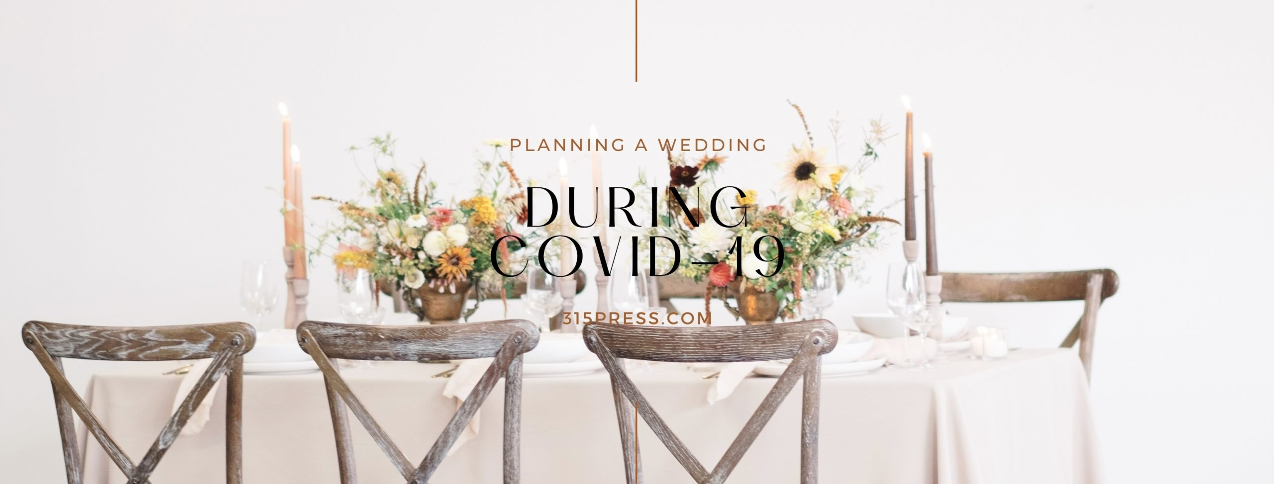 Planning a wedding during COVID-19 – how to work around potential disruption