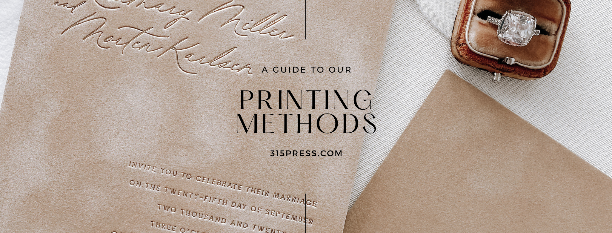 A Guide to the Printing Methods we provide